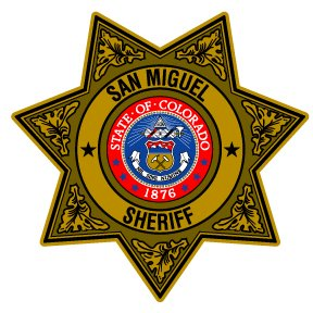 San Miguel Sheriff's Badge